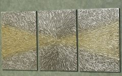 Silver And Gold Wall Art