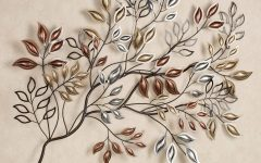 Leaves Metal Wall Art