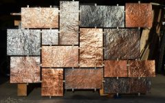Hammered Metal Wall Art