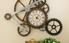 Clock Wall Accents
