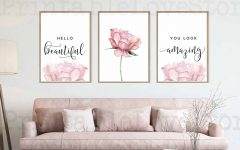 Blended Fabric Hello Beauty-full Wall Hangings