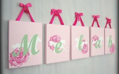 Baby Names Canvas Wall Art