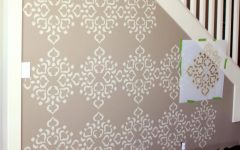 Space Stencils For Walls