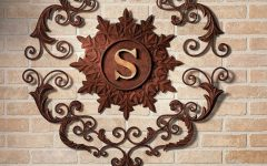 Brown Metal Wall Art