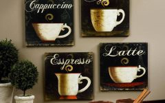 Cafe Latte Kitchen Wall Art
