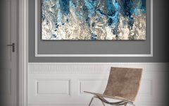 Blue And White Wall Art