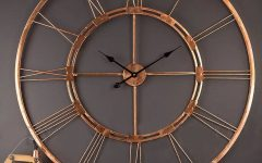 Large Metal Wall Art Clocks