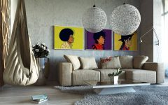 Tall Wall Art Decor