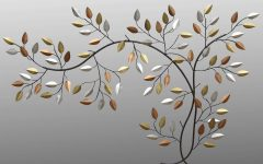 Metal Wall Art Branches