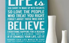 Inspirational Canvas Wall Art