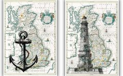 Nautical Map Wall Art