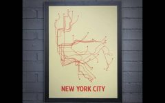 Subway Map Wall Art