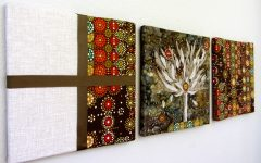 Creative Fabric Wall Art