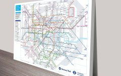 Tube Map Wall Art