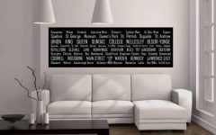 Horizontal Canvas Wall Art