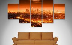Los Angeles Canvas Wall Art