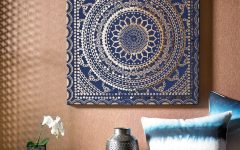 Moroccan Fabric Wall Art