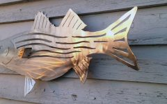 Stainless Steel Fish Wall Art