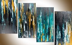 Abstract Wall Art for Office