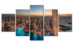 Dubai Canvas Wall Art