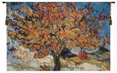 Blended Fabric the Mulberry Tree – Van Gogh Wall Hangings