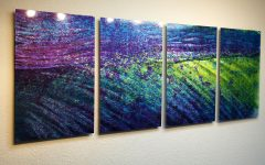 Abstract Metal Wall Art Panels