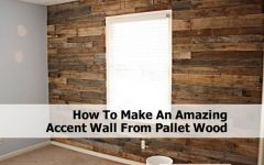 Wood Pallets Wall Accents