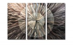 3 Piece Metal Wall Art