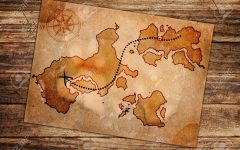 Treasure Map Wall Art