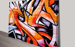 Abstract Graffiti Wall Art