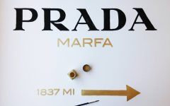 Prada Marfa Wall Art