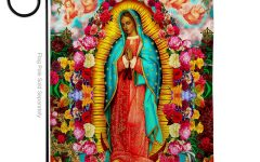 Blended Fabric Our Lady of Guadalupe Wall Hangings