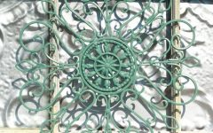 Wrought Iron Metal Wall Art