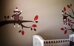Sock Monkey Wall Art