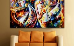 Jazz Canvas Wall Art