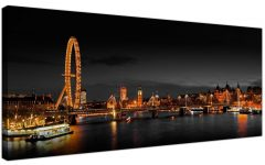 London Canvas Wall Art