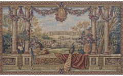 Blended Fabric Italian Wall Hangings