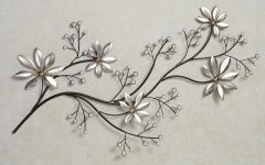 Floral Metal Wall Art