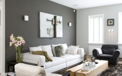 Gray Wall Accents