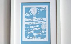 Personalized Baby Wall Art