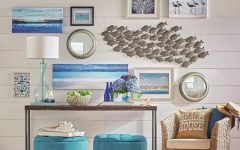 Crate Barrel Coastal Wall Art