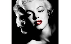 Marilyn Monroe Black And White Wall Art