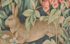 Blended Fabric Pheasant and Doe European Tapestries Wall Hangings
