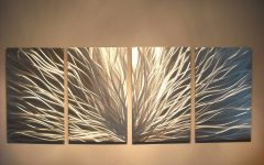 Contemporary Metal Wall Art Decor