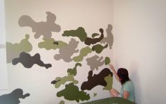 Camouflage Wall Art