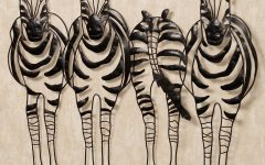 Safari Metal Wall Art