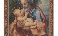 Blended Fabric Saint Joseph European Tapestries