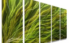 Green Metal Wall Art