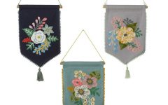 Blended Fabric Celestial Wall Hangings (set of 3)
