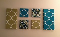 Fabric Wrapped Wall Art